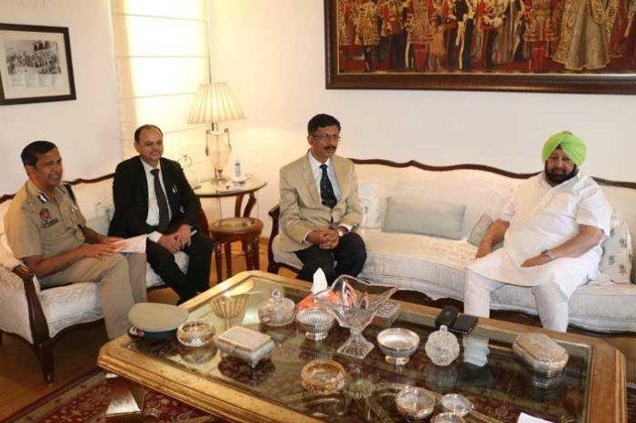Amarinder Abhay NCB DG Meeting