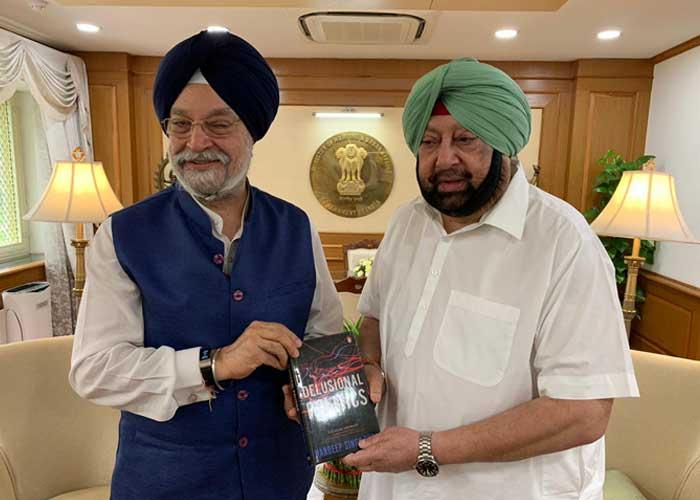 Amarinder Puri Delusional Politics Book