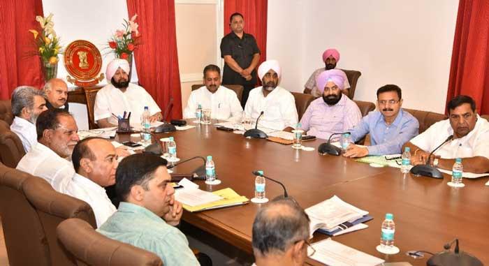 Amarinder Urban Renewal Reforms Consultative Group Meeting