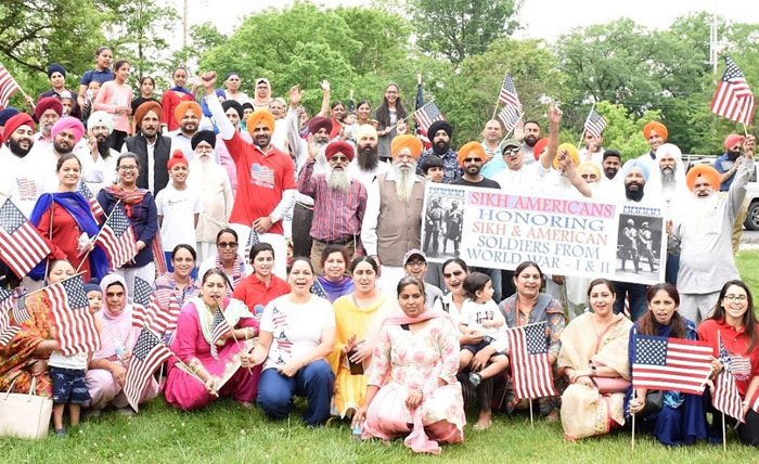 American Sikh Soldiers Memorial Day 2 at Springfield