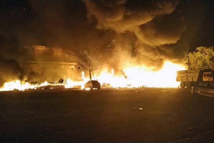 Anandpur Sahib Shops Fire