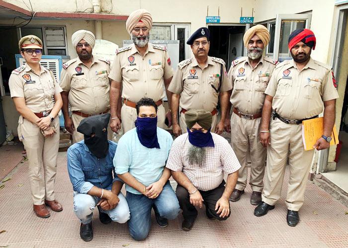 Bhullar Raided Travel Agents in Jalandhar