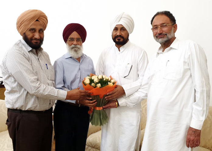 Charanjit Channi Surjit Patar Lakhwinder Singh