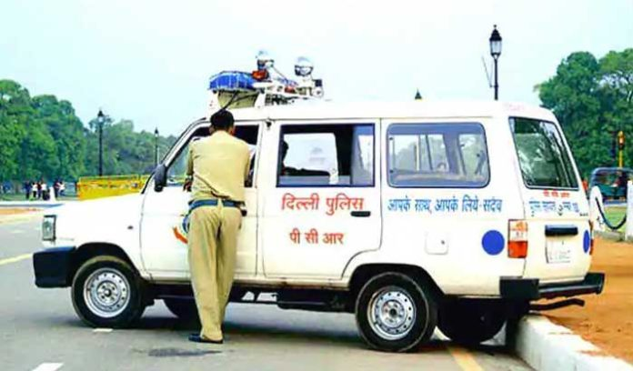 Delhi Police Car