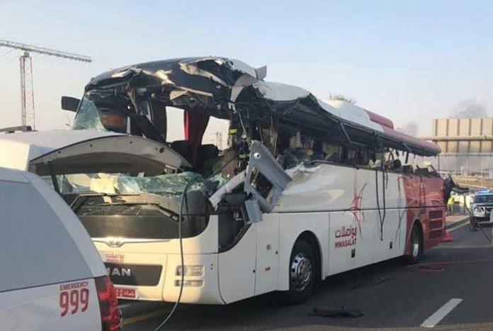 Dubai bus accident