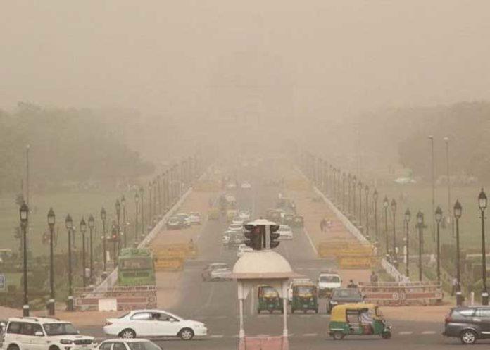 Dust Storm Delhi