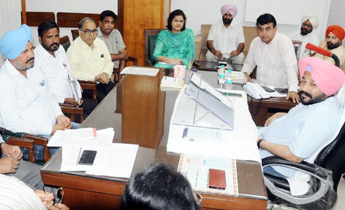 Gurpreet Singh Kangar at meeting