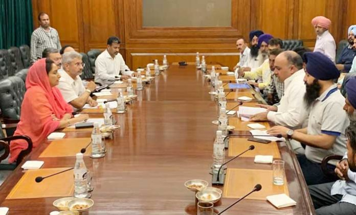 Harsimrat Jaishankar Pbi Iraq Meeting