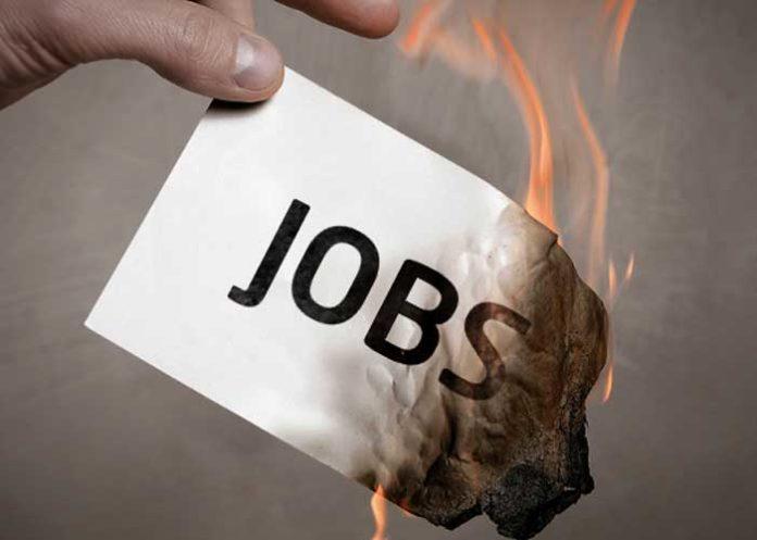 Jobs burning