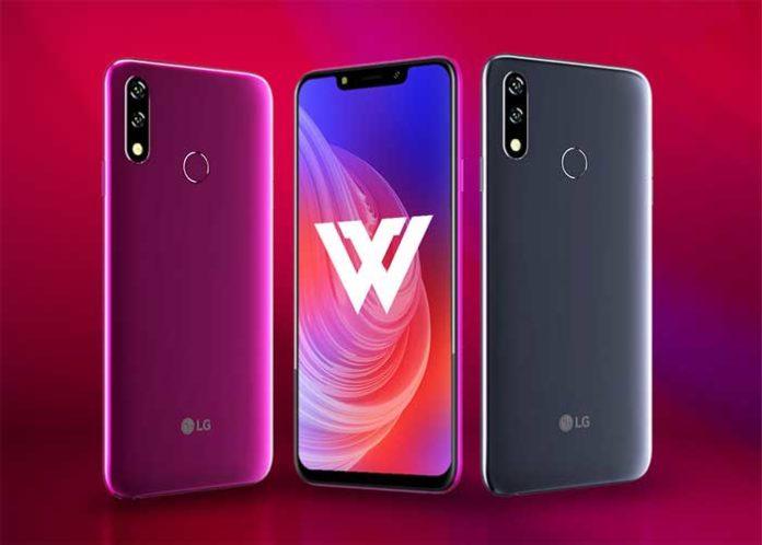 LG W10