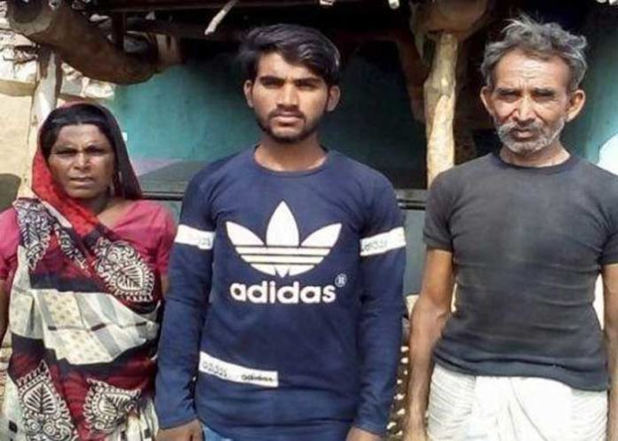 Lekhraj Bheel with family