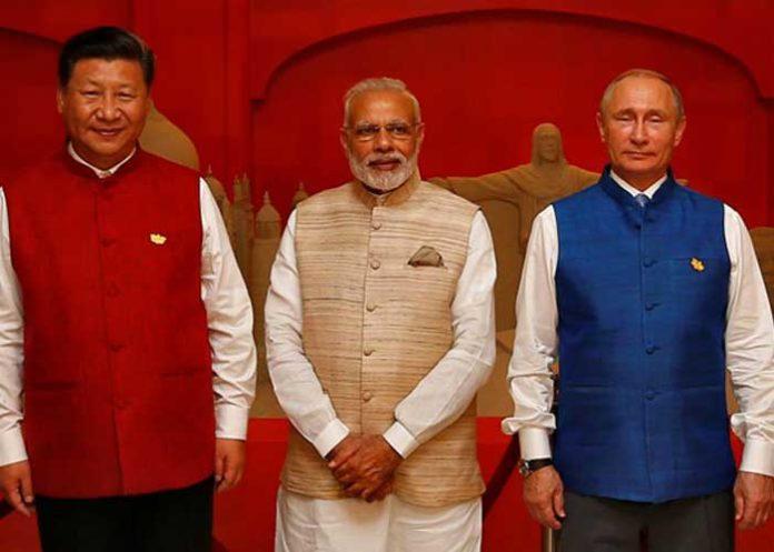 Modi Putin Jinping