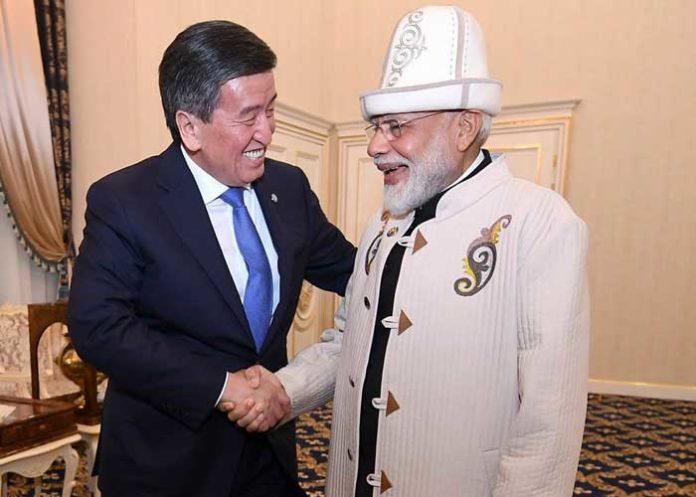 Modi Sooronbay Jeenbekov Gift Hat Coat
