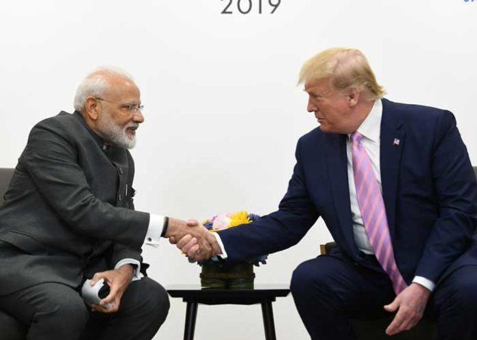 Modi Trump Osaka Meeting