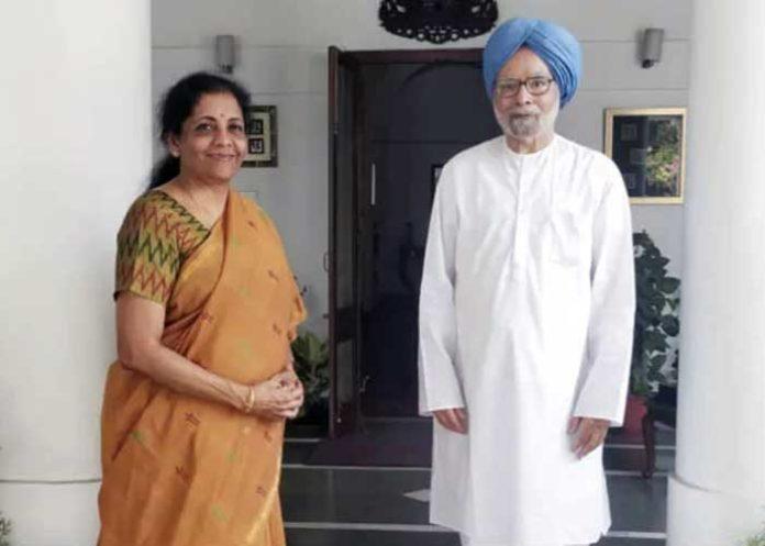 Nirmala Sitharaman Manmohan Singh