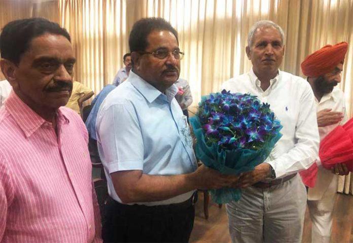 OP Soni assume office as Med Ed Minister