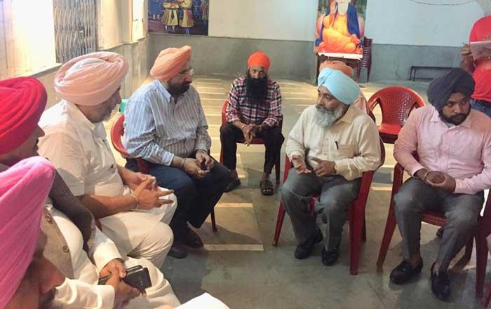 Punjab Delegation Shillong Gurdwara members