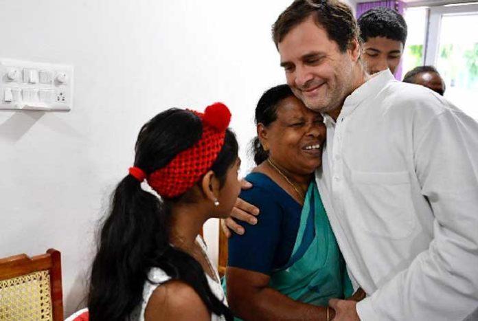Rahul Gandhi Rajamma Nurse