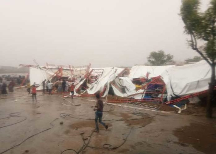 Rajasthan Barmer Tent Collapse