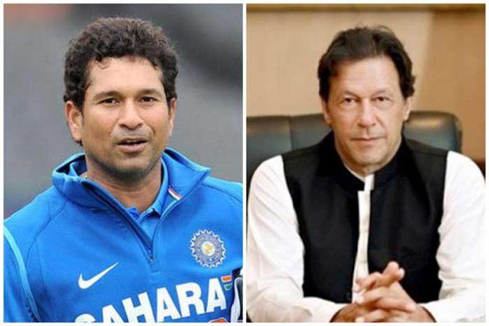 Sachin Tendulkar Imran Khan