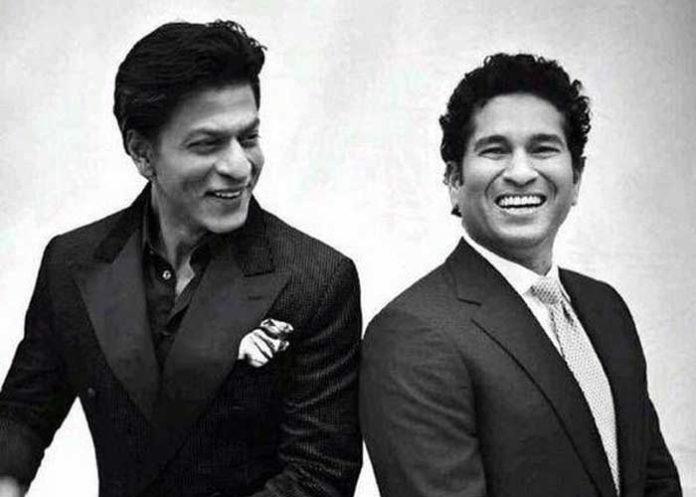 Sachin Tendulkar Shah Rukh Khan