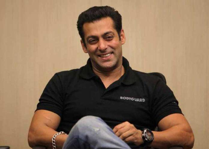 Salman Khan smiling