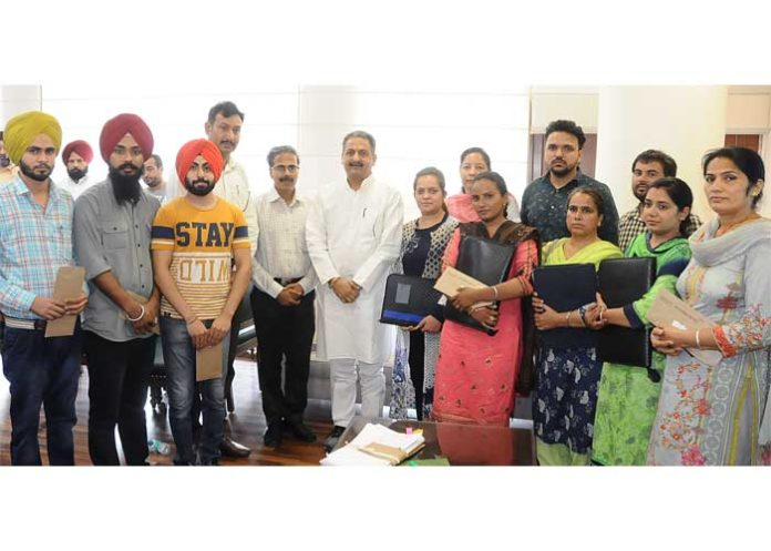 Singla Appoint Letter on compassionate Ground