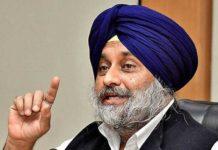 Sukhbir Singh Badal slams
