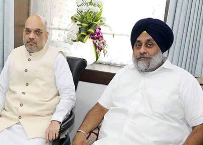 Sukhbir meet Amit Shah