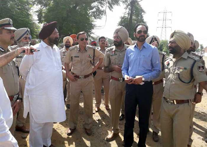 Sukhjinder Randhawa Ludhiana Jail Inspection 1
