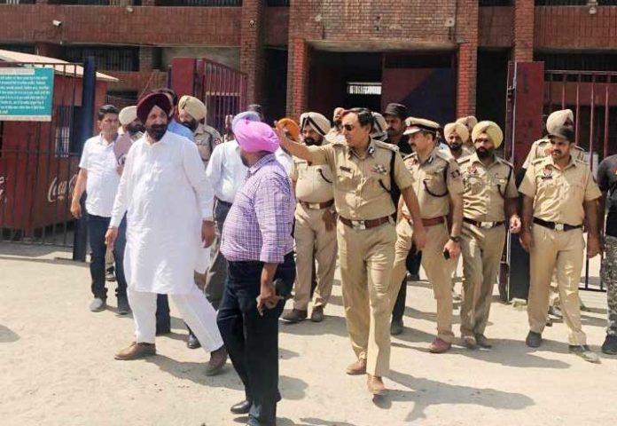 Sukhjinder Randhawa Ludhiana Jail Inspection 2