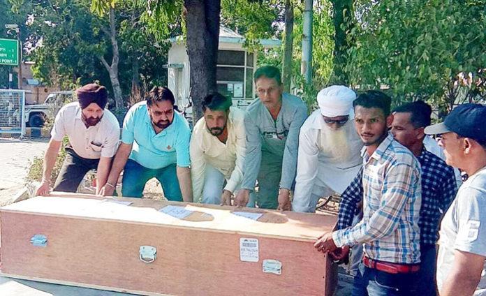 Surjit Kumar dead body Dubai
