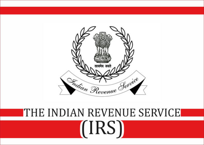 The Indian Revenue Service IRS logo