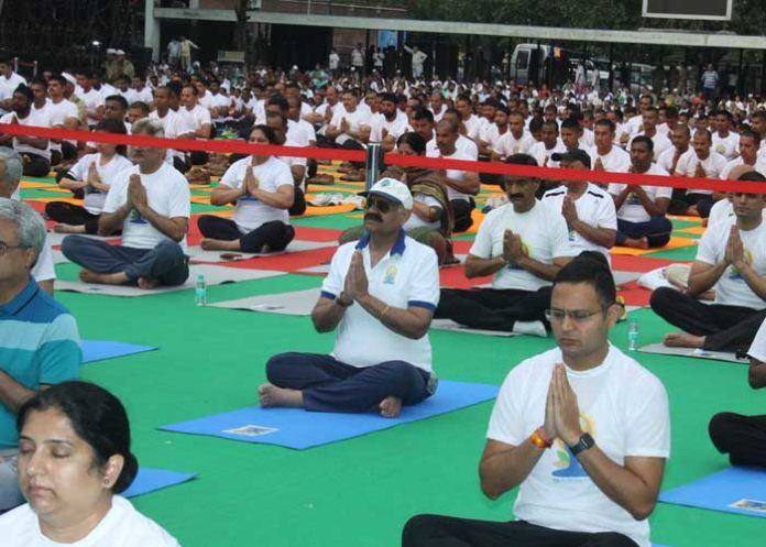 VP Singh Badnore Yoga 2019
