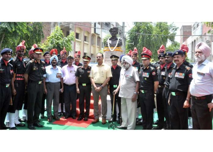 Varinder Sharma Capt Garcha martyrdom Jalandhar