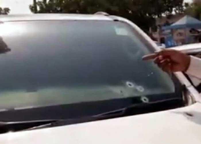 Vikas Choudhary Car Firing