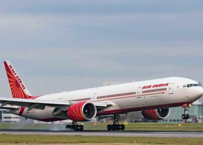 Air India Takeoff