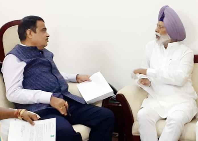 Amar Singh meet Nitin Gadkari