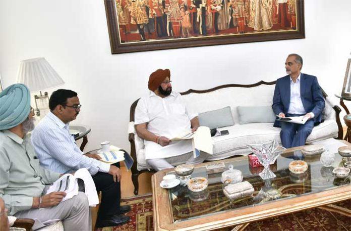 Amarinder PSPCL Review Meeting