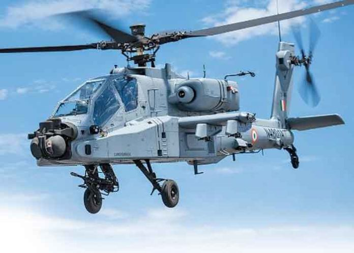 Apache AH 64 Helicopter