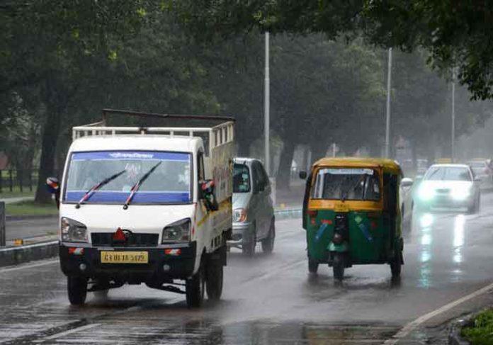 Chandigarh Rainfall