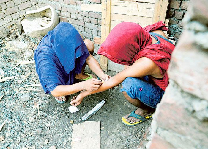 Drug Injection People