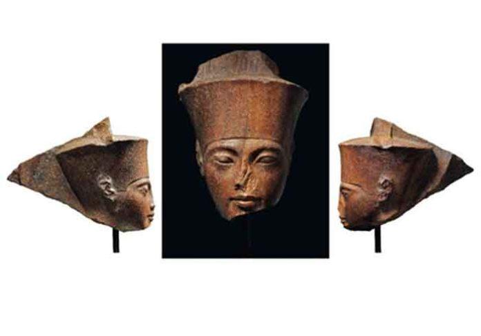 Egyptian God Amen Bust