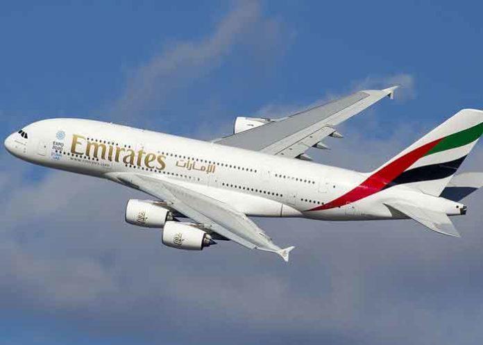 Emirates in air