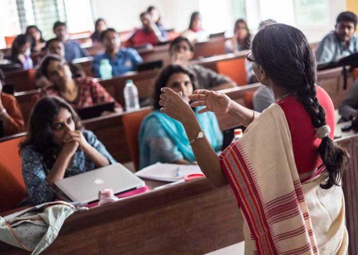 Higher Education Student Teacher