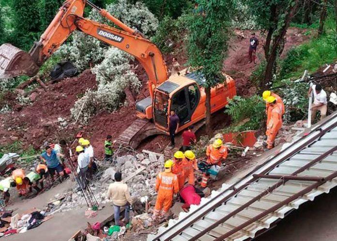 Himachal building collapse Solan rescue