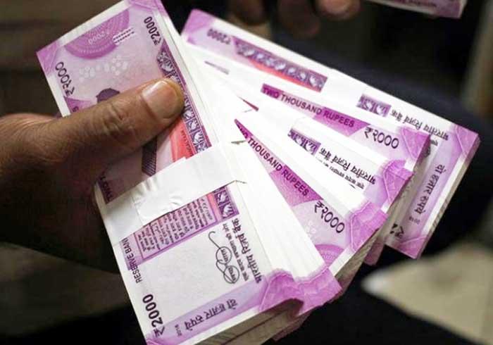 Indian Rupee 2000 Bundle