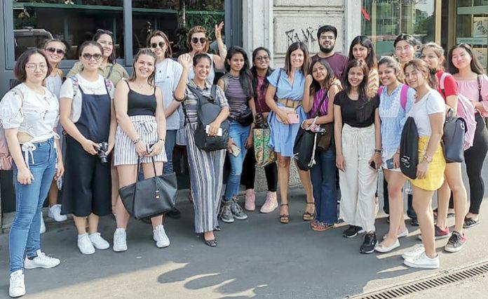 LPU Student visiting Milan Italy
