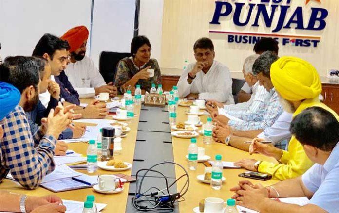 Manish Tiwari Vini Mahajan Meeting 14Jul19