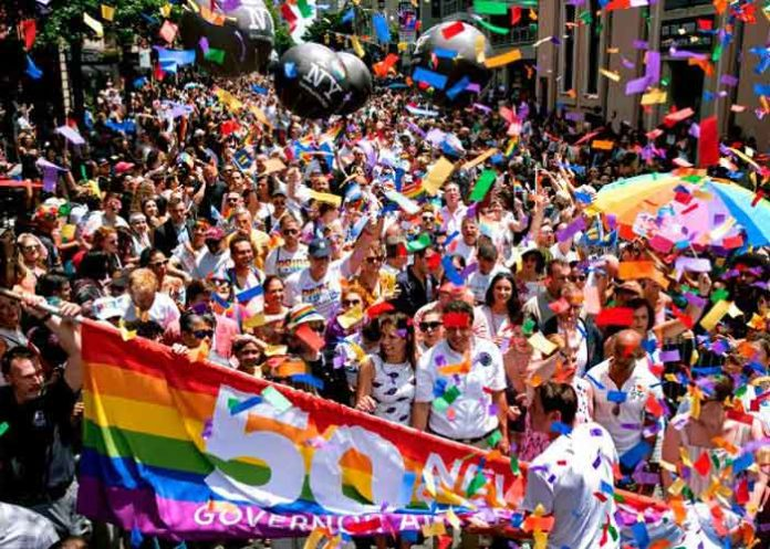 New York Pride parade July 2019
